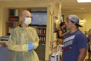 UFC's Urijah Faber At Sunrise Children's Hospital