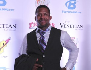 Kevin Randleman on the Red Carpet at the MMA Awards 2016