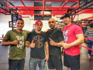 Jeff Meyer - Urijah Faber - Gil Martinez - B ryan Lindsey at MMA Draft Combine - Photo by Robby LeBlanc