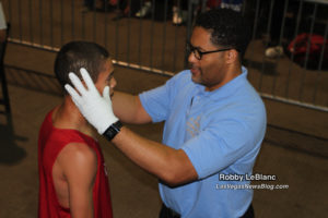 Dr Brandon Snead Checking The Fighters